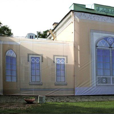 Дизайн и изготовление фальшфасада для исторического здания