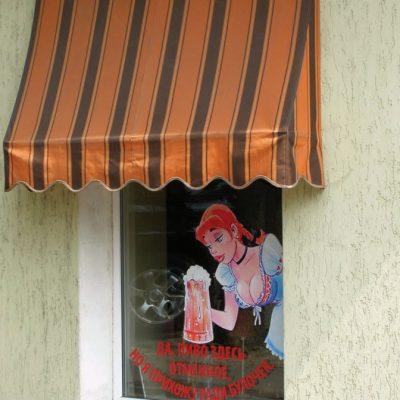 Рекламная оклейка витрин